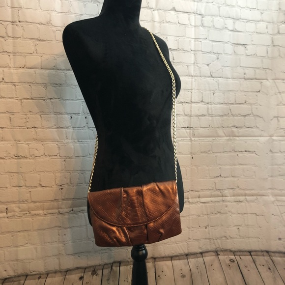 Talbots Handbags - Copper Talbots crossbody purse